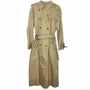 Burberry Vintage Prorsum Chelsea Heritage Trench Coat Camel Tan 12 XL